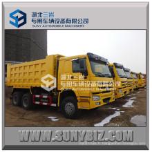 Rhd LHD 30t 375HP Camion résistant de Sinotruk HOWO