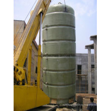 Tanque de fibra de vidrio o recipiente para la aplicación de fermentación de alimentos