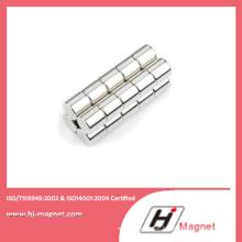 Gesinterte seltene Erden permanente Zylinder NdFeB Magnet aus China-Hersteller