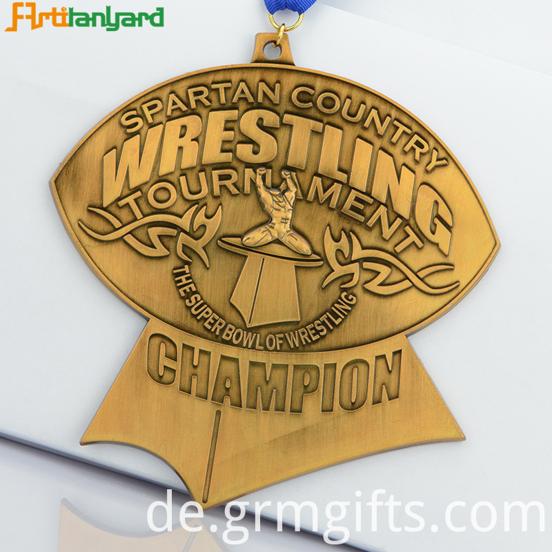 Kid Soccer Metal Medal