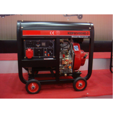 Air Cooled 6.5KVA Open Type Diesel Generator