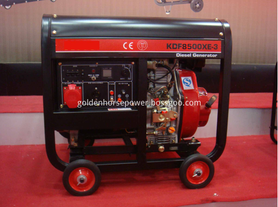 Air Cooled Open Type Diesel Generator