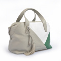 Borsa da viaggio trendy in pelle color nappa a tote