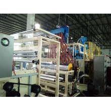 Машина для производства стретч-пленки с тремя винтами стандартной емкости