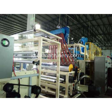 PE Co-ekstrusi Plastik Stretch Film Machinery