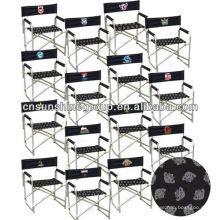 Ferro de lazer de alta-indoor diretor cadeira de dobramento