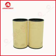 China supplier OEM for Composite Cans,Composite Canister,Cardboard Can Manufacturer in China Customized Eco-friendly Food Grade Packaging Paper Tube supply to Indonesia Importers
