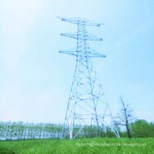 Torre de tubo de acero de transmisión de potencia lineal de 1000kV