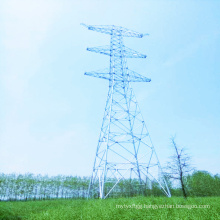1000kV Linear Power Transmission Steel Tube Tower