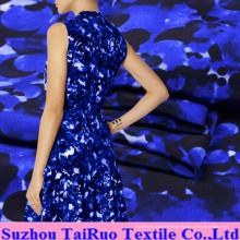 16mm Dicke Digital bedruckt Crepe De Chine Silk Fabric