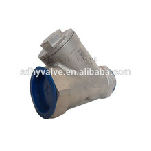 DN65 thread end Y strainer