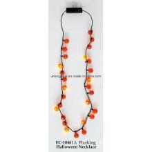 Blinkende Halloween Halskette