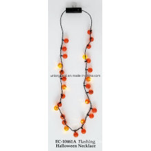 Flashing Halloween Necklace