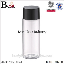 make up clear 100ml all kind of plastic bottle for cosmetics