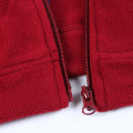 Herren Polar Fleece Jacke mit Reißverschluss