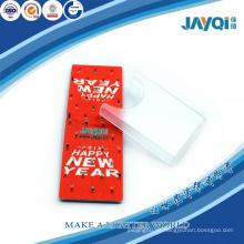 Toallita de microfibra roja de microfibra