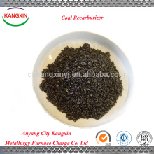Graphite petroleum coke as recarburizer/coal recarburizer