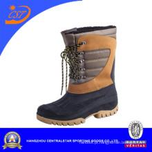 Sobre a bota impermeável da neve do inverno dos homens do tornozelo (XD-386)