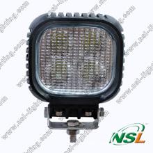 CREE 40W 5 pouces carré, lampe de travail à LED 10-30V, lumière super brillante de brouillard de conduite tout-terrain à LED