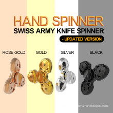 Newest Tri Finger Fidget Hand Spinner for Anti-Anxiety Stress Relief