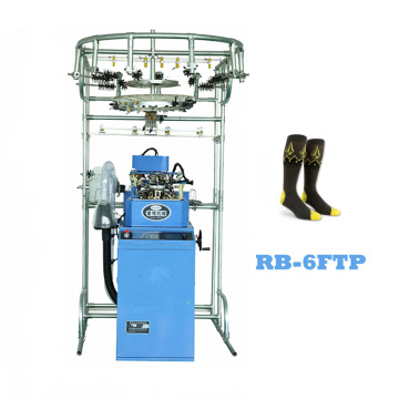 Famous brand automatic rainbowe socks knitting machine price