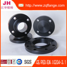 Ss400 Black Paint Flange of ANSI 150# 6""