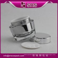 Frasco de luxo Skincare acrílico e 50g Creme de cuidados Persona Frasco de plástico cosmético