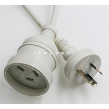 Австралийский электрический провод saa питания шнуры 2 Не wirable САА вилку с кабелем