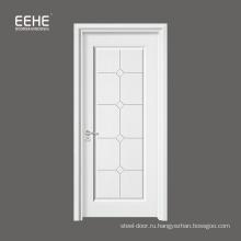 Белая античная резная / деревянная дверь из тикового дерева