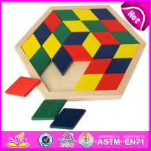 2014 New Wooden Block Puzzle Toys, High Quality Wooden Block Puzzle Toys, Hot Sale Wooden Block Puzzle Toys W13A048