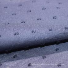 ручной крой хлопчатобумажной вуали кружева швейцарской ткани в горошек