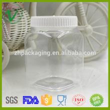 Plato de albañil cuadrado de grado alimenticio vacío para embalaje de caramelo