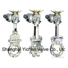 Vanne à guillotine actionneur électrique (YCPZ973)