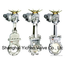 Electric Actuator Knife Gate Valve (YCPZ973)