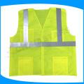 Colete de malha de malha leve, colete de segurança de alta visibilidade, engrenagem reflexiva para corredores