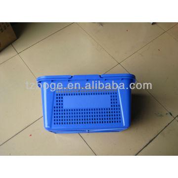поставщик пластичная прессформа корзины для товаров