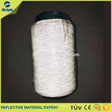 reflective thread for machine embroidery