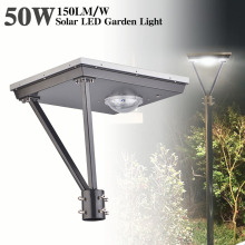 7500Lumen 50W Solar Led Light Post Top