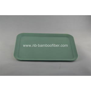 Rectangular with circle edges tray