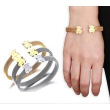 Modeschmucksache-Frauen-Edelstahl-Armband
