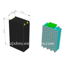 Lifepo4 48v batería de litio 50ah para motocicleta eléctrica
