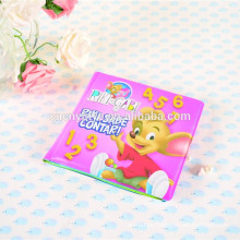 foam pvc color change bath book for baby