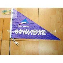 100% poliéster impresso bandeira/Banner de publicidade