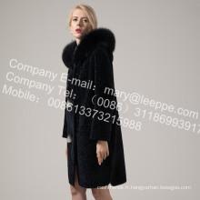 Manteaux d'hiver femme en peau de mouton