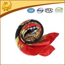 Echarpes imprimées en soie en soie