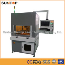 Máquina de la marca del laser de la etiqueta del animal / etiqueta máquina de la marca del laser