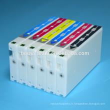 Kit de recharge de cartouche d'encre compatible pour fuji dx100 imprimante à jet d'encre uv dye encre pour fuji dx100 cartouche d'encre d'impression