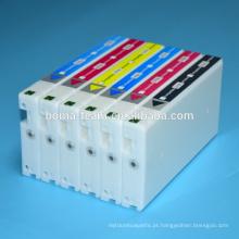 Kit de recarga de cartucho de tinta compatível para fuji dx100 tinta jato de tinta uv tintura de tinta para fuji dx100 cartucho de tinta de impressão