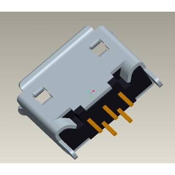 MICRO USB 5P 2.0 TYPE RECEPTACLE B