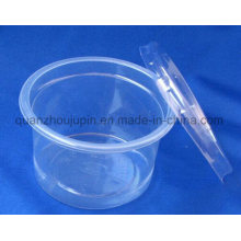 OEM Plastic Disposable Pudding Jar with Lid